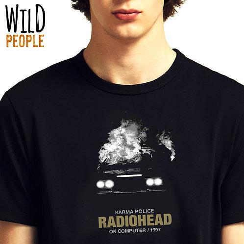Camiseta Radiohead -Silk digital
