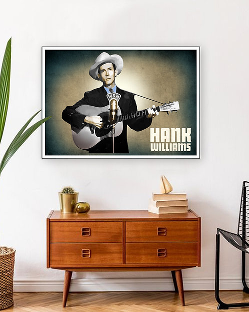 Poster Hank Williams