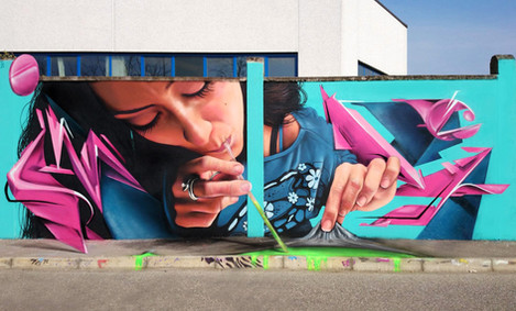 Street art by Cheone