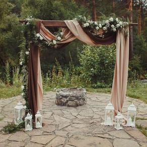 Свадебная арка своими руками. Пошаговая инструкция с фото.
