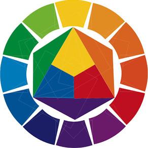 Цветовой круг Иттена и градиент.