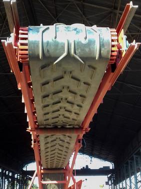 Belt on Mining Conveyor