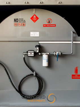 Diesel Mobifuel Front inside Container