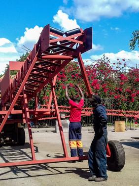 Mining Conveyor for Loading
