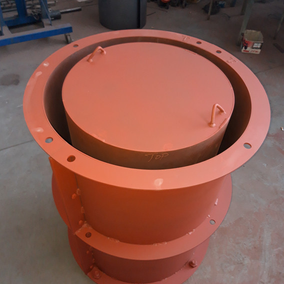 Cement Pipe Mold - Full View