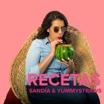 Sandía + YummyStraws = ¡Deli!