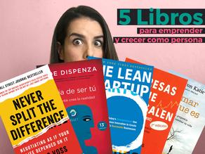 Los 5 libros que te apoyarán a lograr tus metas