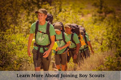 Boy Scouts Hiking