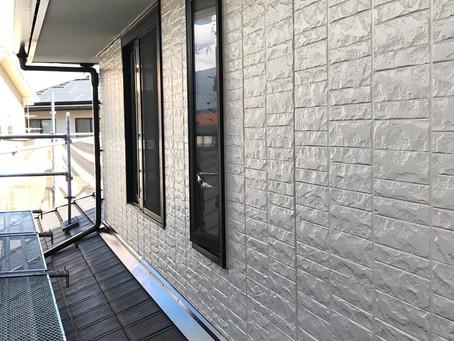 外壁塗装現場