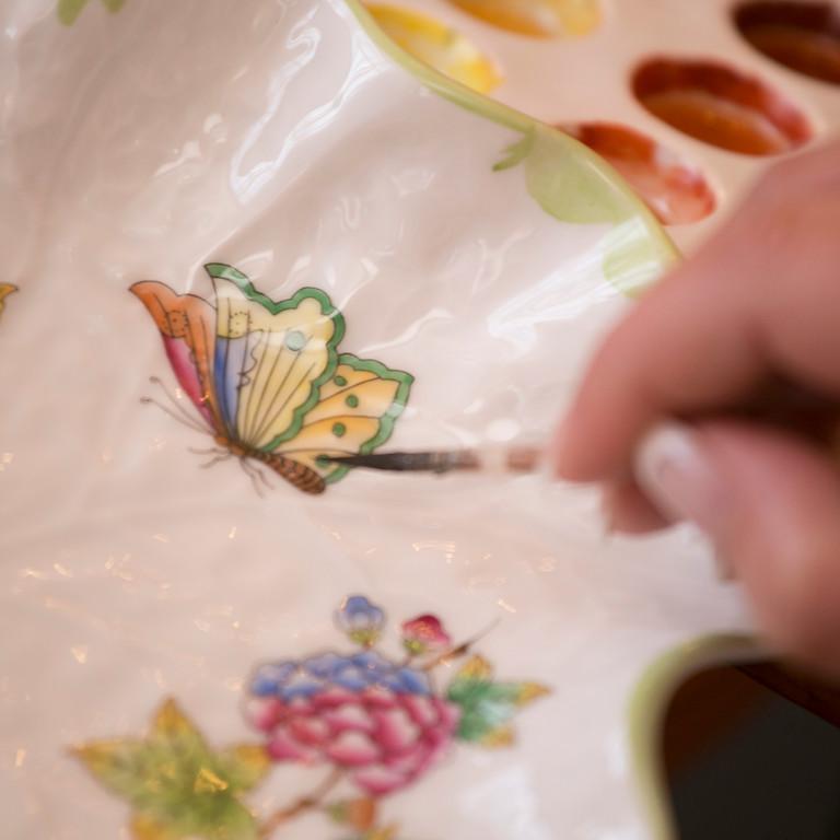 BETELT - A Herendi-titok: Porcelánfestés II.