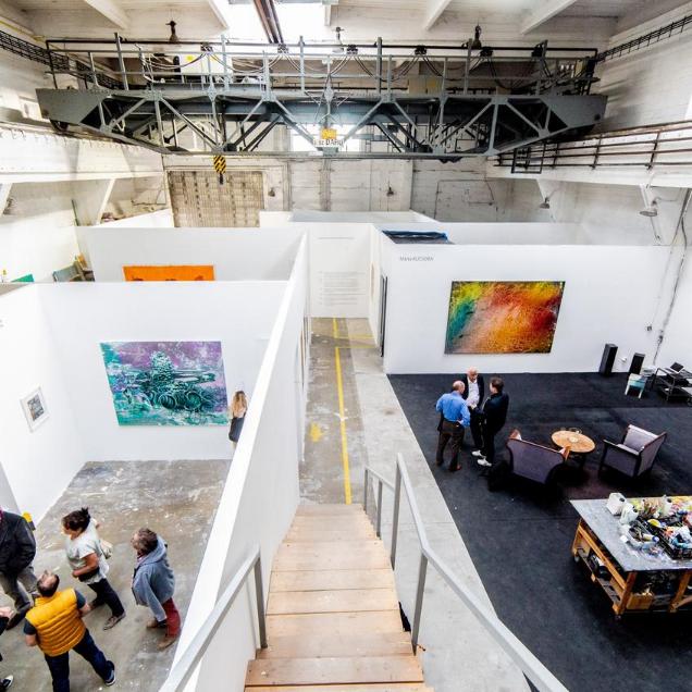Budapest Art Factory műteremlátogatás