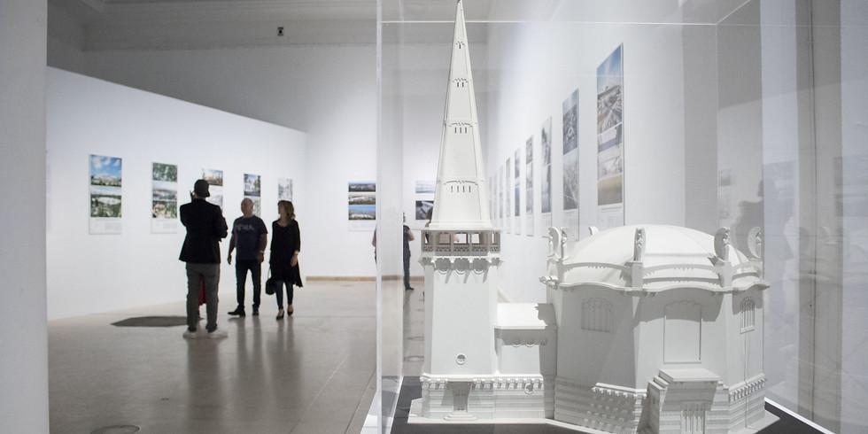Tárlatvezetés a TÉR /// ERŐ | Építészeti Nemzeti Szalon kiállításon