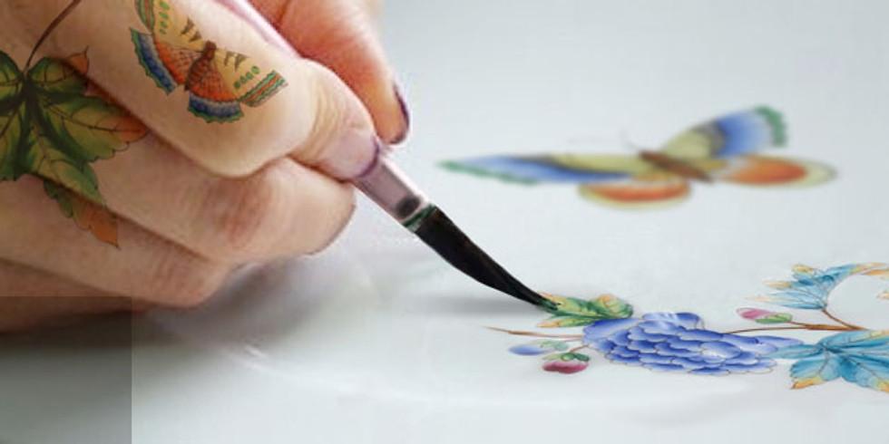 A Herendi-titok: Porcelánfestés