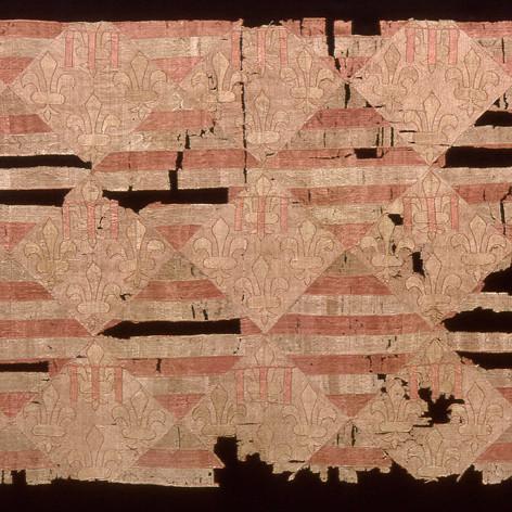 A magyar - Anjou címeres selyemkárpit tárlatvezetés