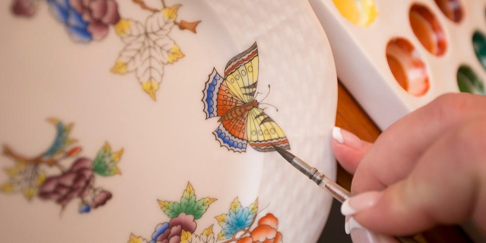 Herendi Porcelán - Minden, amit tudni akartál a porcelánfestésről