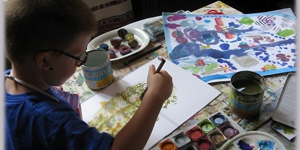 Gyerekműhely: Akvarell és tempera