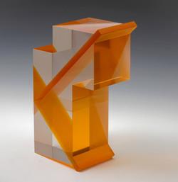 Három kocka narancs átlókkal
