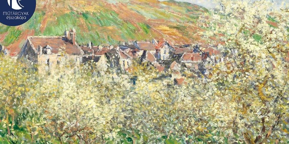 ONLINE: Vibráló fények - Claude Monet, az impresszionizmus mestere