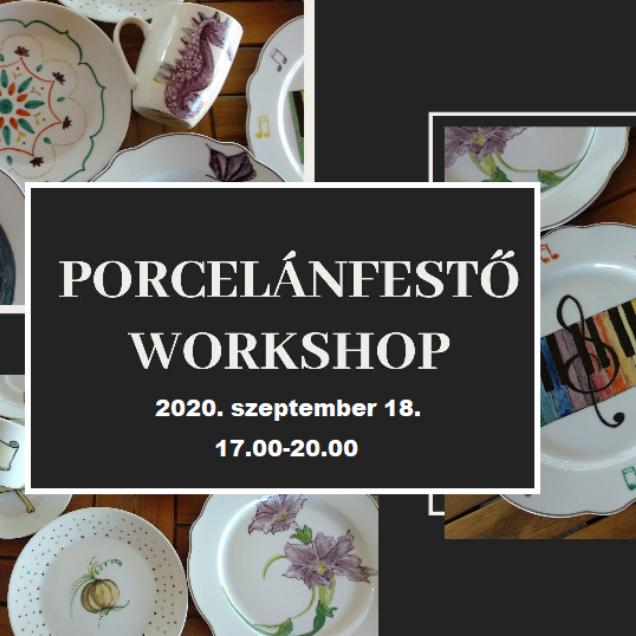 BETELT - Porcelánfestő workshop