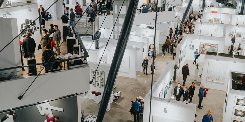 Szakmai tárlatvezetés az Art Market Budapesten