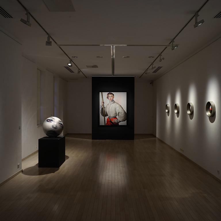 Tárlatvezetés Martin C. Herbst kiállításán