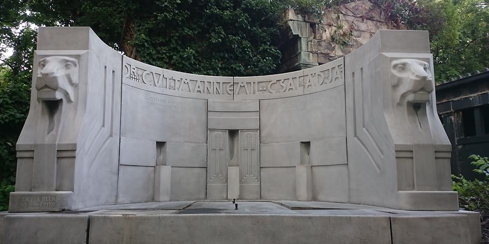 Ámulatba ejtő, rejtett  építészeti különlegességek együttese - Három temető, négy tematikus művészeti séta