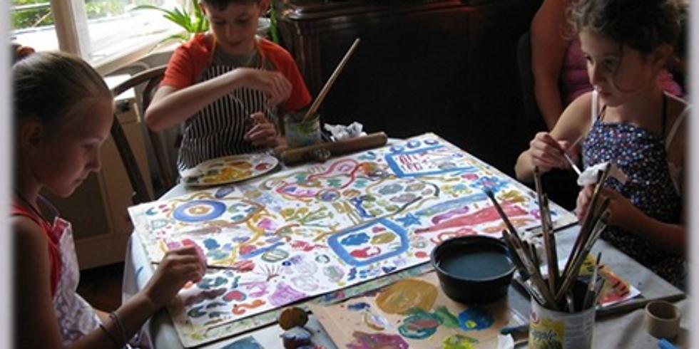 Gyerekműhely: Tempera és akrilfestés