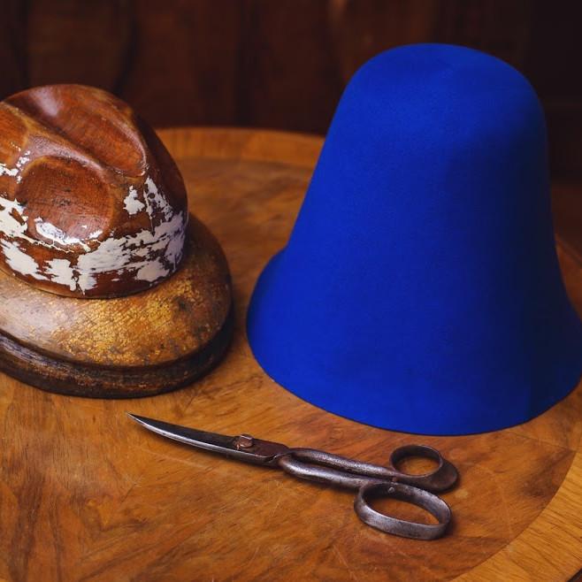Így készül a kalap