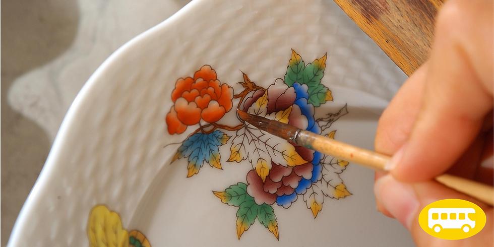 A Herendi-titok: Porcelánfestés II. -BETELT!