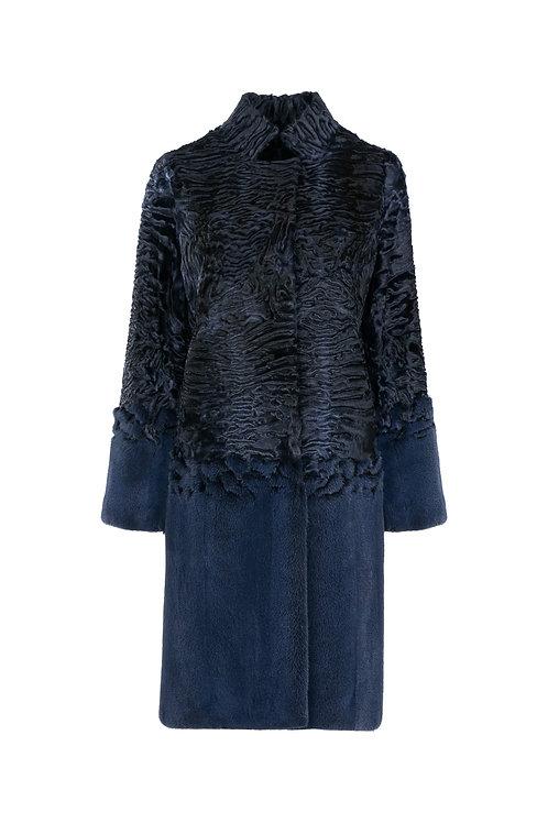 Пальто из норки и Swakara