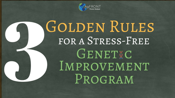 Golden Rules for Genetic Improvement by Dr. Elisa Marques