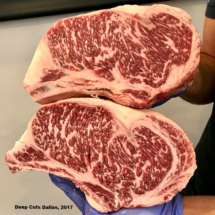 HeartBrand Akaushi beef (pictured)