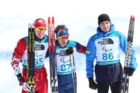 PyeongChang 2018, Biathlon Sprint Podium