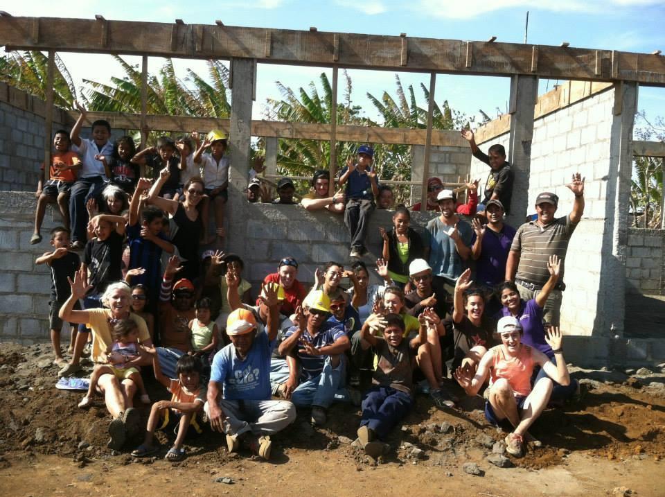 The SchoolBOX Build team in Nicaragua