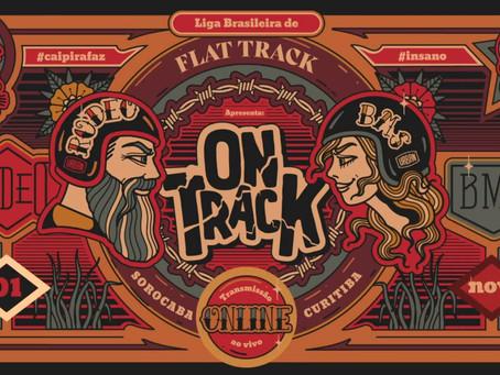 On Track: A emoção do Flat Track direto na sua casa