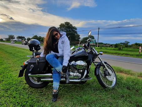 Sou filha de motociclista