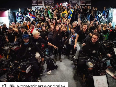 WRWR: motociclistas fazem revezamento pelo mundo