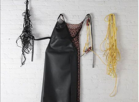Concept driven design brand, Homecque, creates stunning aprons using Sileather