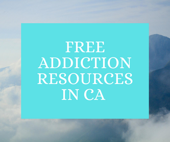 Free Addiction Resources in CA