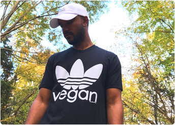 'Sporty Vegan' Tee ⓥ🌿