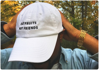 Eat Fruits Not Friends Cap ⓥ🌿