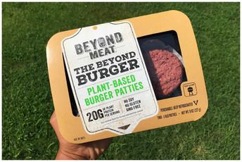 Beyond Meat Plant-Based Burger 🍔🇺🇸