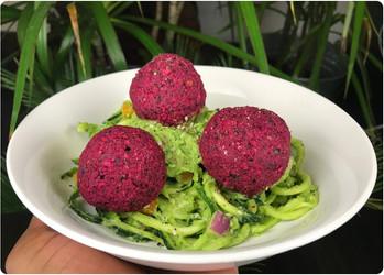 Raw Beet Balls ⓥ🌱