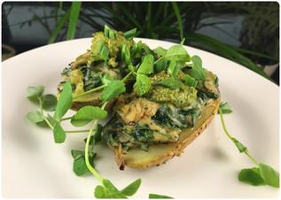 Creamy Mushroom & Spinach 🍄🌿