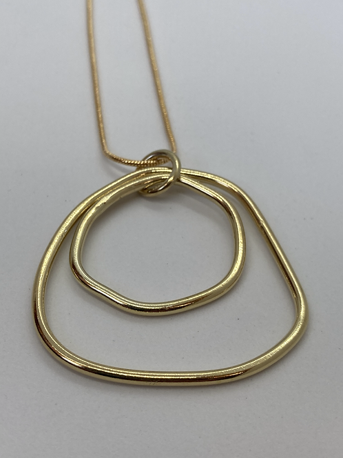18ct Gold Plated Mini Sarah Necklace