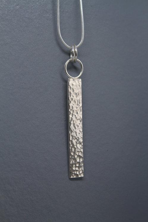 Dappled Bar Necklace
