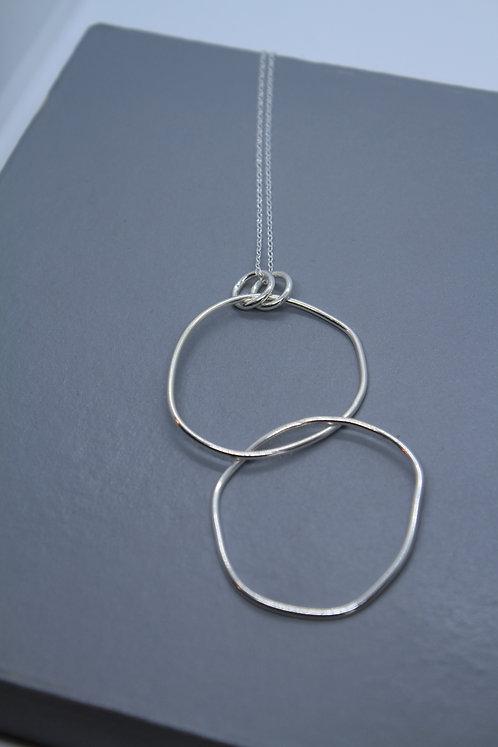 Double Pebble Necklace