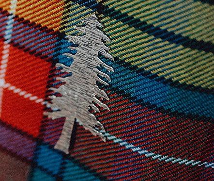 Pine Tree Kilt Pin