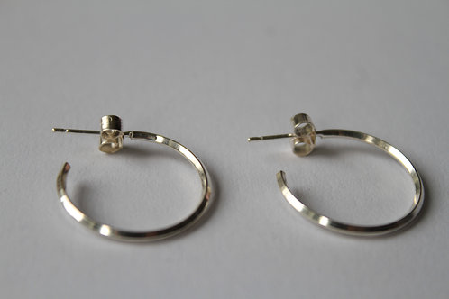 Small Square Wire Hoops