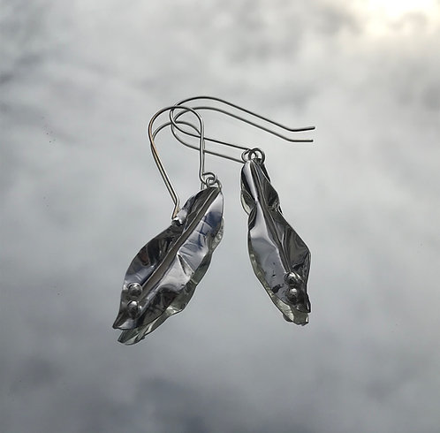 Pea Pod Earrings